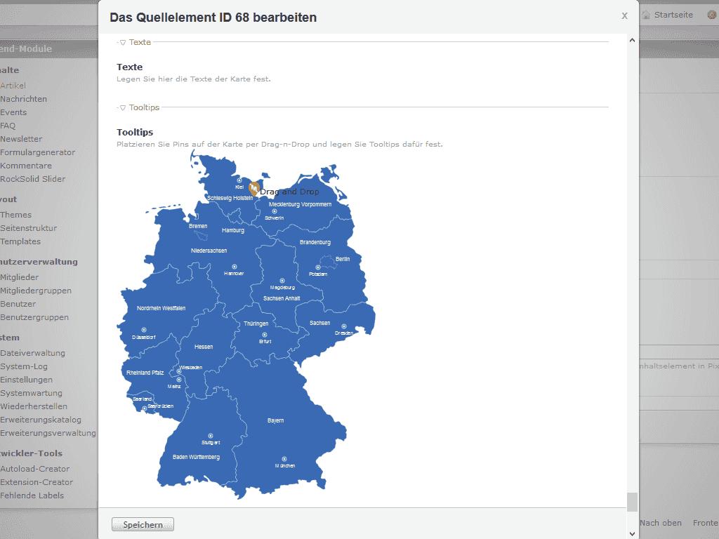 interaktive karte erstellen Interaktive Landkarte Erstellen | Deutschland Karte