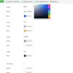 Joomla 3 Regionen Farben wählen