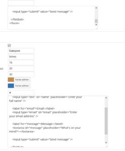 WordPress Regionen tooltip bearbeiten