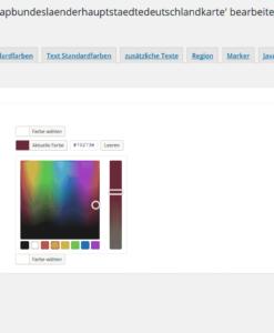 WordPress Textfarben