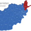 Map Afghanistan Provinzen Badakhshan