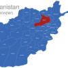 Map Afghanistan Provinzen Baghlan