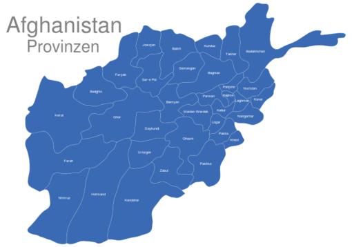 Afghanistan Provinzen