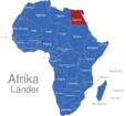 Map Afrika Länder Agypten