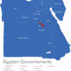Map Agypten Gouvernements Asyut