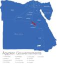 Map Agypten Gouvernements Asyut