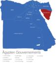 Map Agypten Gouvernements Dschanub_Sina