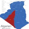 Map Algerien Provinzen Adrar