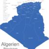 Map Algerien Provinzen Algier