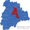 Map Altenburger Land Altenburg