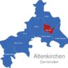 Map Altenkirchen Gemeinden Betzdorf