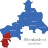Map Altenkirchen Gemeinden Flammersfeld