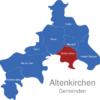 Map Altenkirchen Gemeinden Gebhardshain