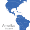 Map Amerika Länder Anguilla