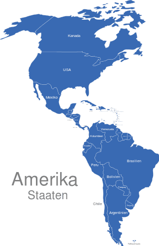 Amerika Länder