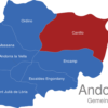 Map Andorra Gemeinden Canillo