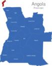 Map Angola Provinzen Cabinda