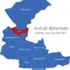 Map Anhalt Bitterfeld Aken