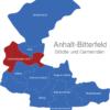 Map Anhalt Bitterfeld Osternienburger_Land