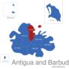 Map Antigua And Barbuda Gemeinden Saint_George