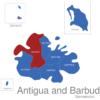 Map Antigua And Barbuda Gemeinden Saint_John