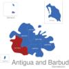 Map Antigua And Barbuda Gemeinden Saint_Mary