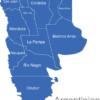 Map Argentinien Provinzen Chaco