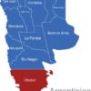 Map Argentinien Provinzen Chubut