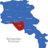 Map Armenien Provinzen Ararat