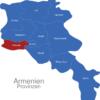 Map Armenien Provinzen Armawir