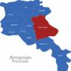 Map Armenien Provinzen Gegharkunik
