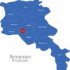 Map Armenien Provinzen Jerewan