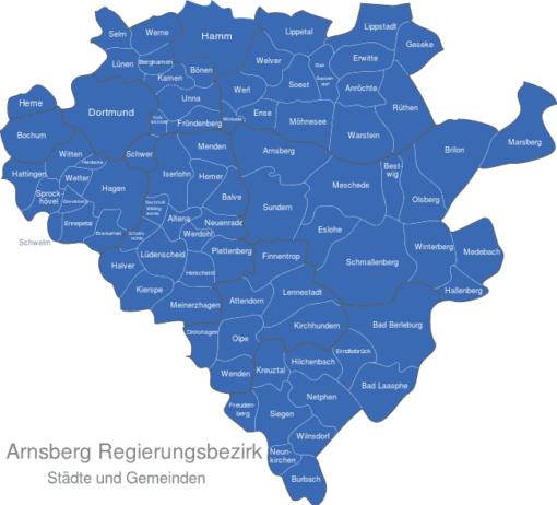 Arnsberg Regierungsbezirk
