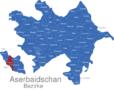 Map Aserbaidschan Bezirke Abseron_1_