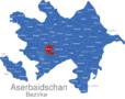 Map Aserbaidschan Bezirke Agdam_1_