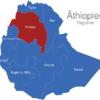 Map Athiopien Regionen Amhara