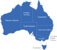 Map Australien Regionen Australian_Capital_Territory