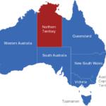 Map Australien Regionen Northern_Territory