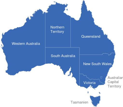 Australien Regionen