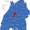 Map Baden Württemberg Kreise Boblingen