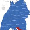 Map Baden Württemberg Kreise Bodenseekreis
