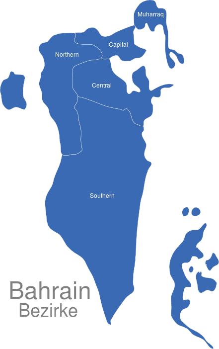 Bahrain Bezirke