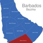 Map Barbados Bezirke Christ_Church