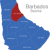 Map Barbados Bezirke Saint_Andrew