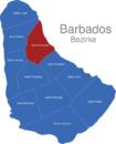 Map Barbados Bezirke Saint_Andrew
