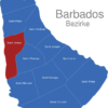 Map Barbados Bezirke Saint_James