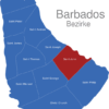 Map Barbados Bezirke Saint_John
