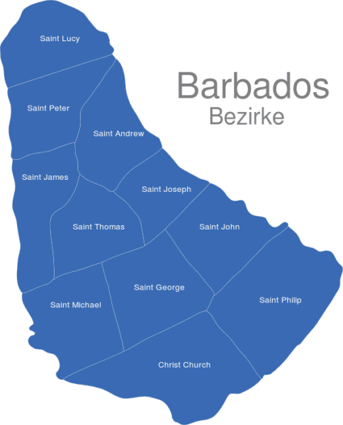 Barbados Bezirke