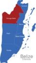 Map Belize Districte Orange_Walk