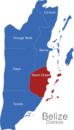 Map Belize Districte Stann_Creek
